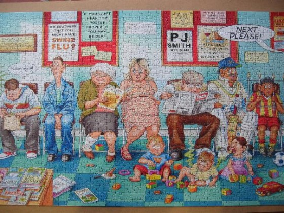 The Doctor´s Surgery-Ravensburger-1000 Teile