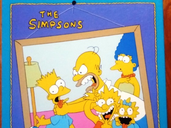 The Simpsons, MB, 300 Teile