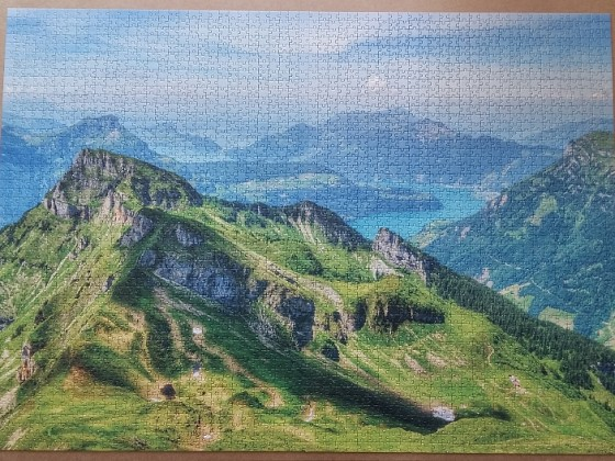 Uri, Switzerland 3000 Pieces ( Dino Puzzle )
