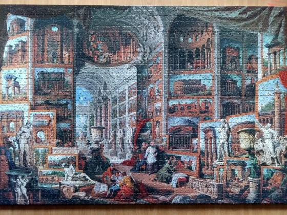 Ancient Rome  by Giovanni Paolo Pannini 2000 Pieces ( Clementoni )
