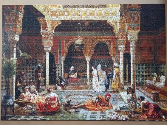 The Introduction after the Bath by Filippo Baratti 3000 Pieces ( Anatolian )