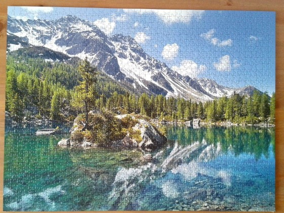 Mountain Magic by Stefan Hefele ( 2016 ) 1530 Pieces ( Ravensburger Puzzle )