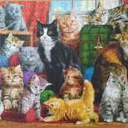Feline meeting, 1000 Teile (Trefl)