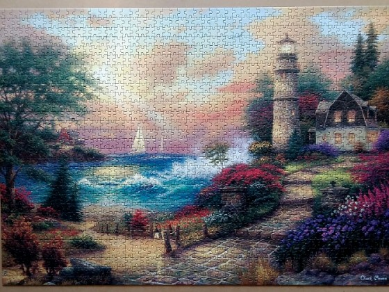 Seaside Dreams by Chuck Pinson 1500 Pieces ( Anatolian )