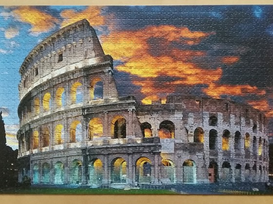 The Collosseum in Rome 1500 Pieces ( Trefl )