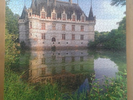 Schloß Azay le Rideau Loiretal, France, Getty Images ( 2015 ) 1530 Pieces ( Ravensburger Puzzle )
