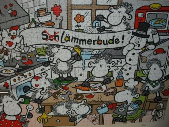 Sheepworld - Schlämmerbude - 1000 Teile