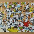 Sheepworld: Cupcakes, 1000 Teile (Ravensburger)