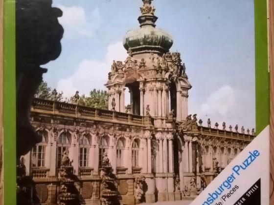 Dresden, Wartburg, Marienburg, 3x 49, Ravensburger