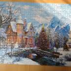 Weihnachtslandschaft - Dominik Davidson