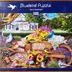 Bed & Breakfast, 1000 Teile, Bluebird