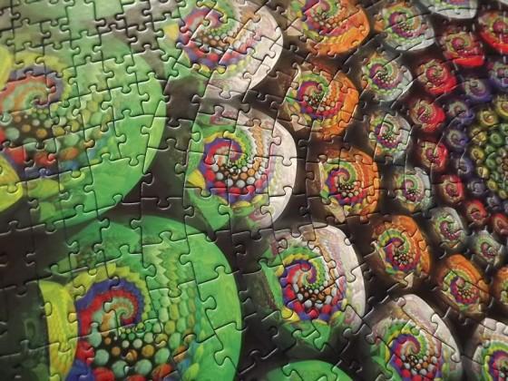 Krypt Color Spiral - Ravensburger - 654 Teile