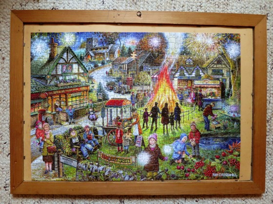 House  of Puzzles 1000 Teile Autumn Green