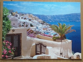 Santorini, Greece 2000 pieces ( Castorland Puzzle )