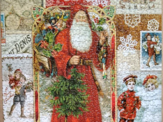Weihnachtsmann - Puzzle von knusperflocke an AdoraBelle42