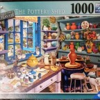 The Pottery Shed, My Haven No. 3, Ravensburger, 1000 Teile