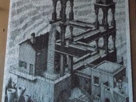 M.C. Escher - Wasserfall - 1000 Teile