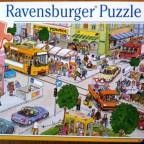 Fahrzeuge in der Stadt, 100 Teile, Ravensburger