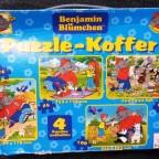 Benjamin Blümchen Puzzlekoffer, 2 x 26, 60, 100, Blatz