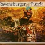 Tiger am Wasserloch, 2000
