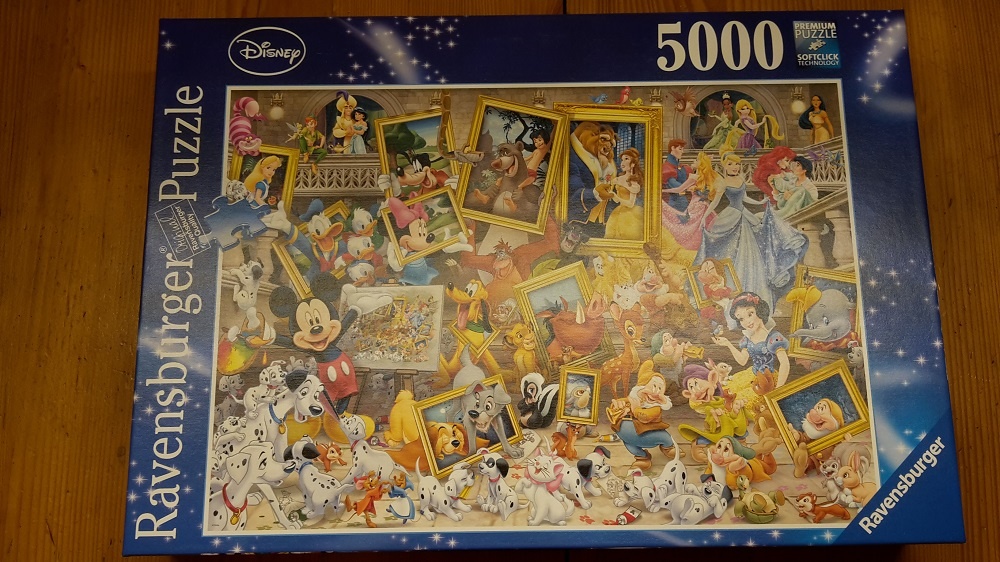 Disney: Mickeys Portrait 5000 Ravensburger