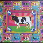 Bunte Kühe
