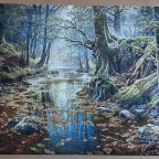 Reminiscence of the Autumn Forest by Graham Twyford. 2000 pieces ( Castorland Puzzle )