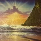 Paradiesischer Sonnenaufgang