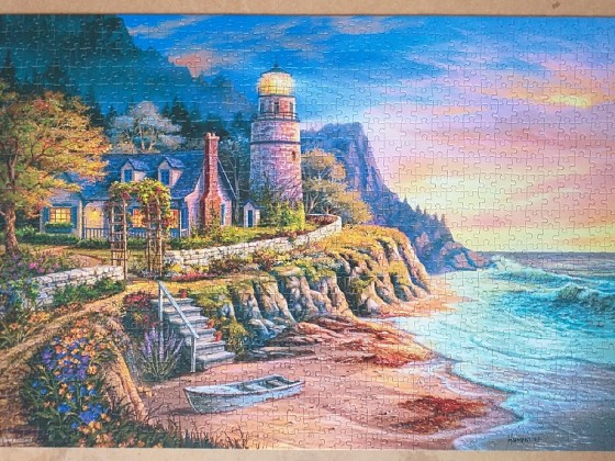 Lighting the Way by Humphries 1000 Pieces ( Castorland Puzzle )