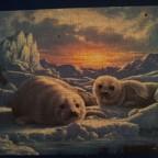 Robbenbabies im ewigen Eis Ravensburger 500 Teile