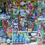 The christmas Cupboard von Colin Thompson-Ravensburger-1000 Teile