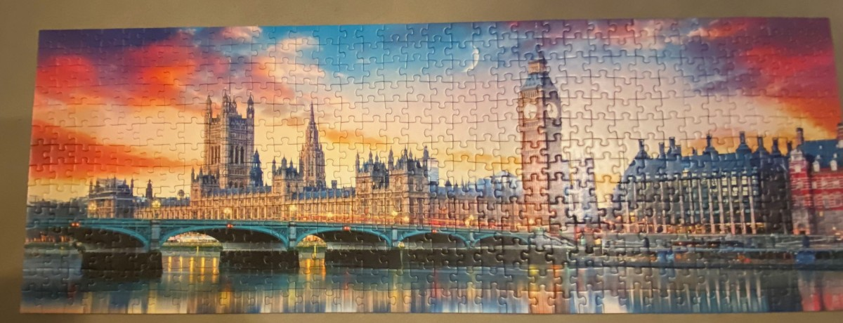 Der Big Ben und Palace of Westminster, London