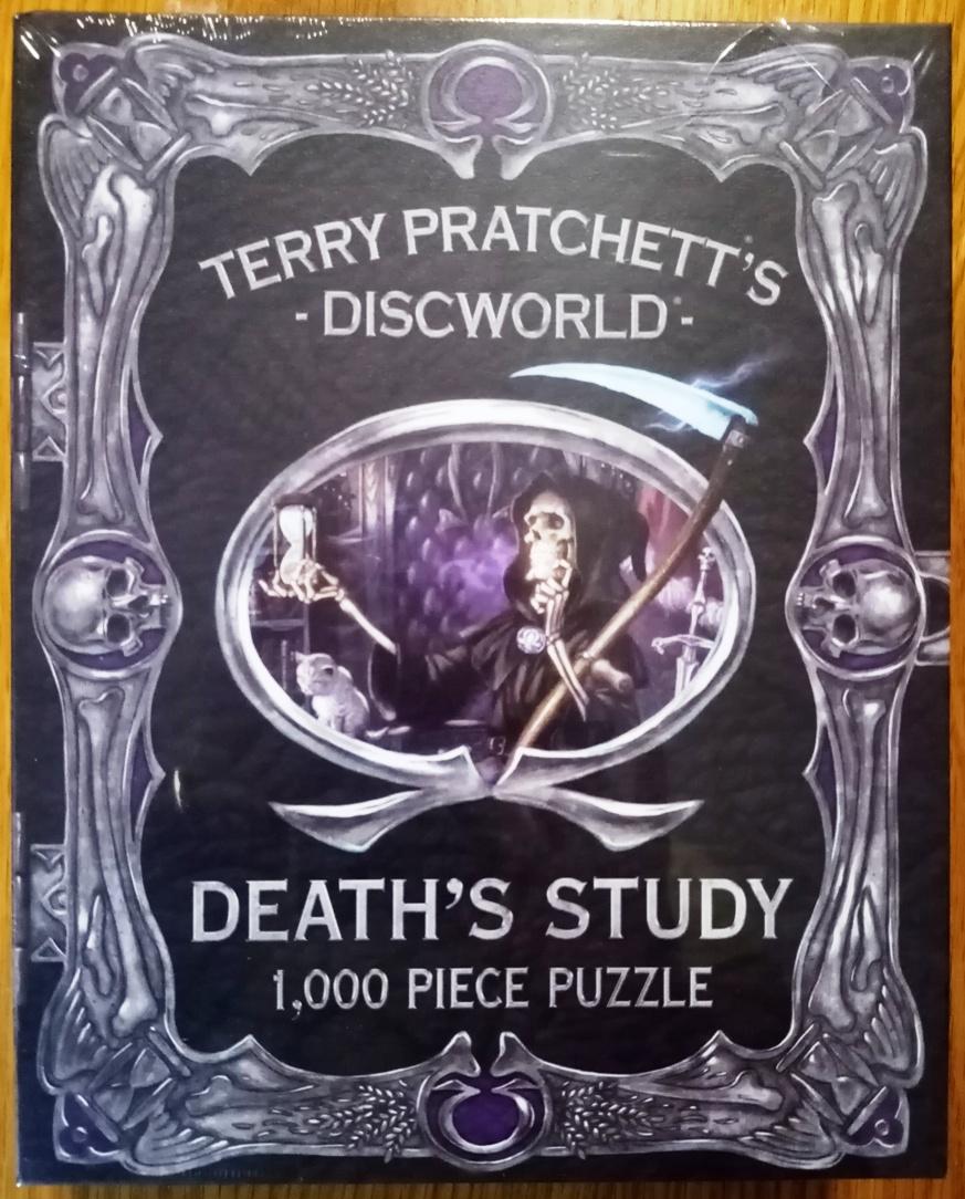Death's Study, 1000 Teile, Discworld Emporium