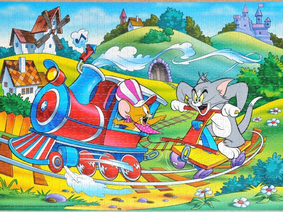 Step-Puzzle - Tom & Jerry, 1000