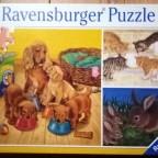 Tiere und ihre Nahrung, 3 x 49, Ravensburger