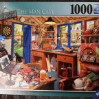 The Man Cave, My Haven No. 2, Ravensburger, 1000 Teile