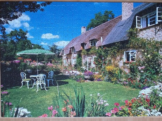 Cotswold Cottage 1000 pieces ( Clementoni )