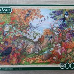 """Autumn Hedgerow"" (Anne Searle) von Falcon"