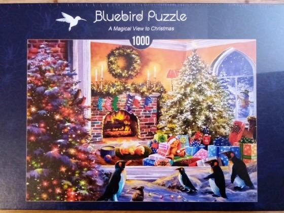 A Magical View to Christmas, Bluebird, 1000 Teile
