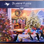 A Magical View to Christmas, Bluebird, 1000 Teile
