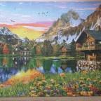 Alpine Lake by Dominic Davison 5000 Pieces ( Educa Puzzle )
