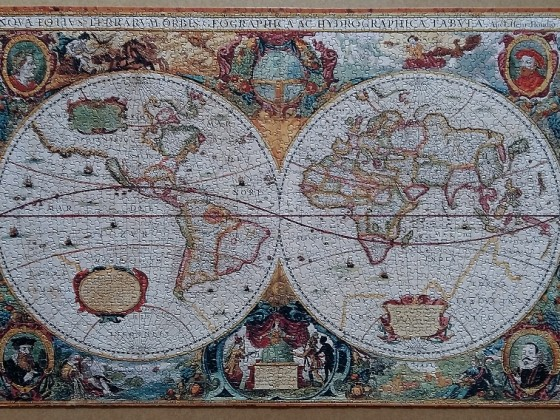 Antique World Map 2000 Pieces ( Eurographics )