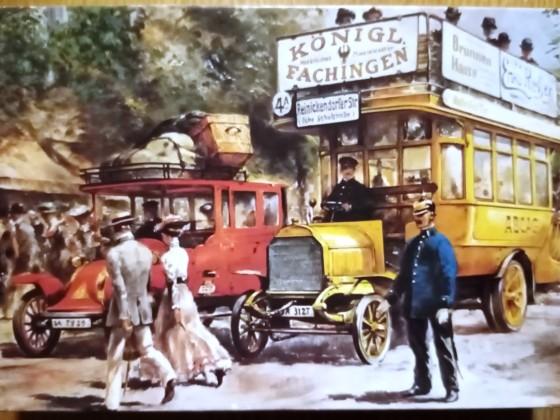 Berliner Omnibus um 1905, Ravensburger, 500 Teile