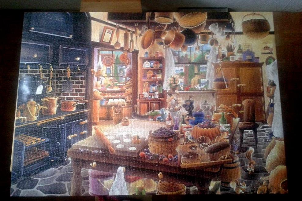 The Backery by Hiro Tanikawa ( 2015 ) 3000 Pieces ( Educa Puzzle )
