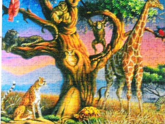 Clementoni  1000 Teile  Afrikanische Wildtiere
