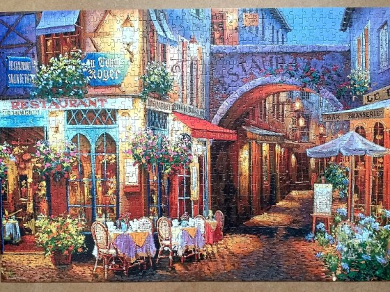 Evening in Provence by Viktor Shivaiko 1000 Pieces ( Castorland Puzzle )