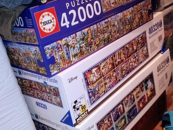 Der Puzzlevorrat