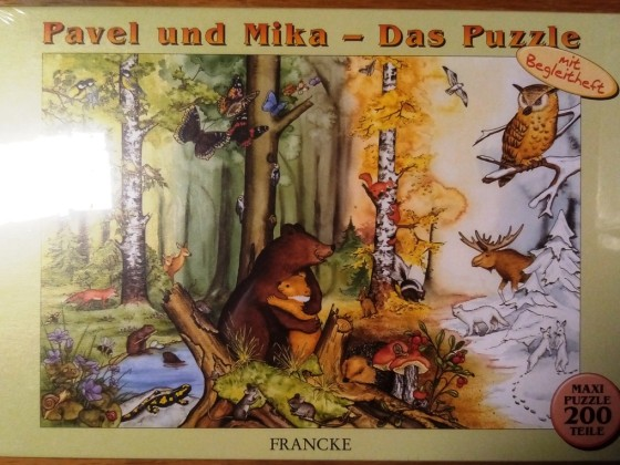 Pavel und Mika - Das Puzzle, Ravensburger, 200 Teile