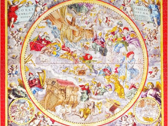 Sunsout - Biblacal Map, 1500
