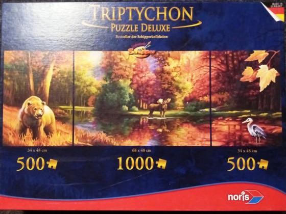 Indian Summer, Triptychon, Noris, 2 x 500, 1 x 1000